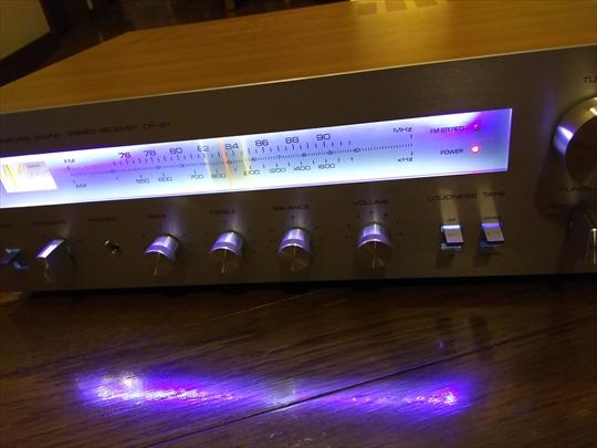 ヤマハ 古いレシーバー CR-311 LED仕様 (7).JPG