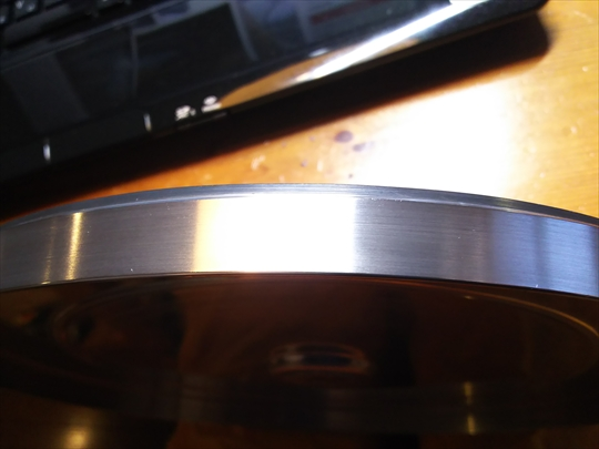 THORENS TD124 プラッター磨き (4).JPG