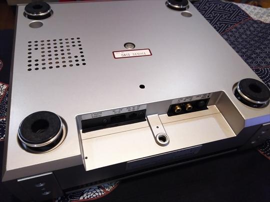 Technics SL-10 インシュレーター保護 (2).JPG
