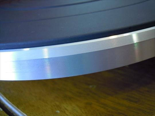 Technics SL-10 自分用3台目 プラッター磨き (2)_R.JPG
