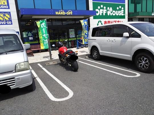 オートバイの間違った停め方.JPG