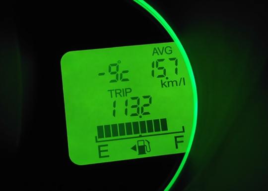 気温 平成30年1月26日 午前6時15分 古河市大和田近辺.JPG